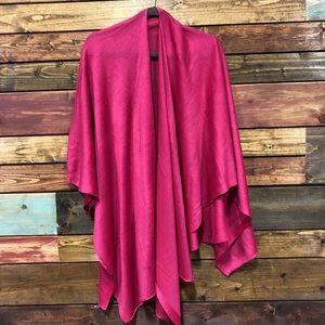 Pink shawl. NWOT.